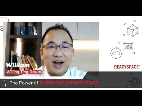 William Ting Group increase sales and closed sales online with Super Salesman Stack